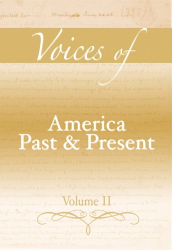 Voices of America Past and Present, Volume II