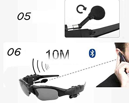 4 Sol 1 30 Para De Inalámbricos Auriculares Estéreo Bluetooth Deportes Bluetooth Polarizadas Gafas P5Anqwv5