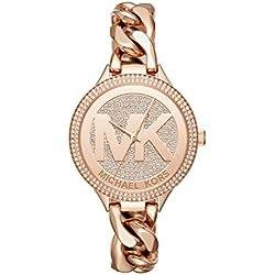 Michael Kors Women's Rose Gold-Tone Watch MK3475