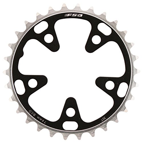 Full Speed Ahead FSA Pro Road Bicycle Chainring - 74 x 30T S9-10 - 370-0330E by Full Speed Ahead
