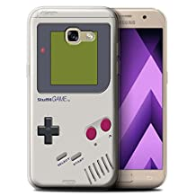 STUFF4 Gel TPU Phone Case / Cover for Samsung Galaxy A5 (2017) / Nintendo Game Boy Design / Games Console Collection