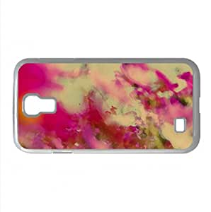 Pinkish Watercolor style Cover Samsung Galaxy S4 I9500 Case (Flowers Watercolor style Cover Samsung Galaxy S4 I9500 Case)