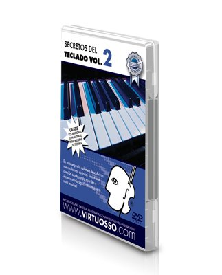 Virtuosso Musical Keyboard Method for Beginners Vol.2 (Curso De Teclados Para Principiantes Vol.2) SPANISH ONLY by Virtuosso