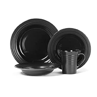 Cuisinart Stoneware Saone Collection 16-Piece Dinnerware Sets