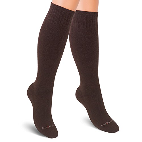 - Cotton Compression Socks for Women. Graduated Stockings for Nurses, Maternity, Travel, Flight, Pregnancy, Varicose Veins, Calf Support. 15-20 mmHg Medical Circulation Hose. Knee High 1 Pair