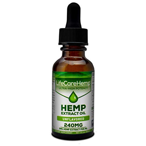 Life Care Hemp – Hemp Extract Oil for Pain Relief – Sleep, Stress, and Anxiety Support Supplement – Herbal Extract Drops…