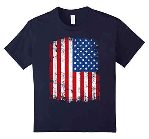Vintage-Patriotic-American-Flag-4th-of-July-Family-T-Shirt