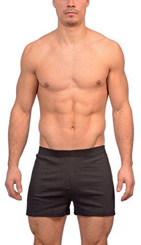 Gary Majdell Sport Men's New Black Workout Mini Rib Gym Short Size ()