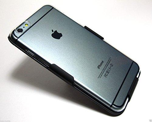 "Price comparison product image Clear / Transparent Slim Soft Durable TPU Case + Belt Clip Holster FOR iPhone 6 Plus / 6s Plus 5.5"""