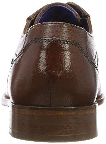 Zapatos Bugatti cognac De 311697014100 Cordones Marrón Derby 6300 Para Hombre F5waUqfv5x