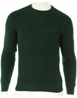 Men's 100% Cotton Crew Neck Sweater Greenland Small