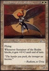 Sustainer of the Realm //// Foil //// Urza/'s Legacy //// MTG Magic //// See Picture