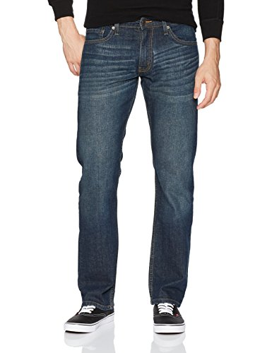 Denim Label Jeans (Signature by Levi Strauss & Co. Gold Label Men's Straight Fit Jeans, Bigfoot, 34W x 30L)