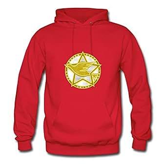 Women Dove Gold Medal Hoody -x-large Regular Designed Red