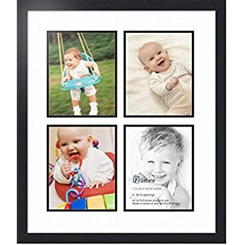 Amazoncom Arttoframes Double Multimat 550 6189 Frbw26079 Collage