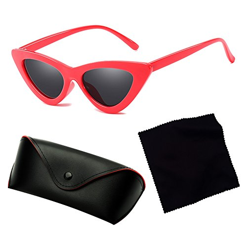 del de Gafas vendimia espejo atractivas del de sol C3 de triángulo color sol del gato hibote de mujeres Gafas de la del las ojo del qYBt7xx