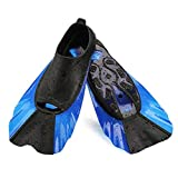 WADEO Kids Swim Fins Flippers for Toddler Child Silicone Combination Fin - XXXS