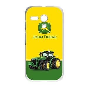 Motorola Moto G Phone Case White John Deere SF8600097