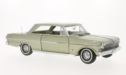 Chevrolet Nova, met.-beige , 1963, Modellauto, Fertigmodell, Sun Star 1:18 Unbekannt