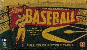 2002 Bowman Heritage Baseball Cards Hobby Box(24 packs/box) ()