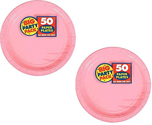 Pink Dessert - Amscan Big Party Pack 100 Count