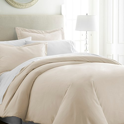 ienjoy Home Hotel Collection Soft Brushed Microfiber Duvet Cover Set, Queen, ()