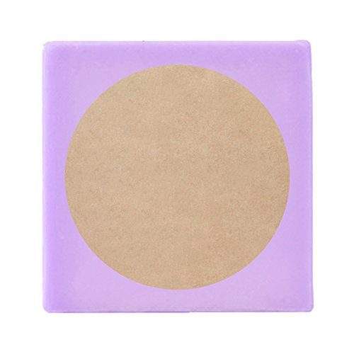 "Mr-Label 2"" Printable Natural Kraft Brown Circle Label - Round Dot Sticker - For Mason Jar Lid 