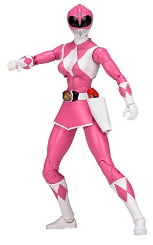 Mighty Morphin Power Rangers 6.5-Inch Pink Ranger Legacy Figure (Mighty Morphin Power Ranger Helmet)
