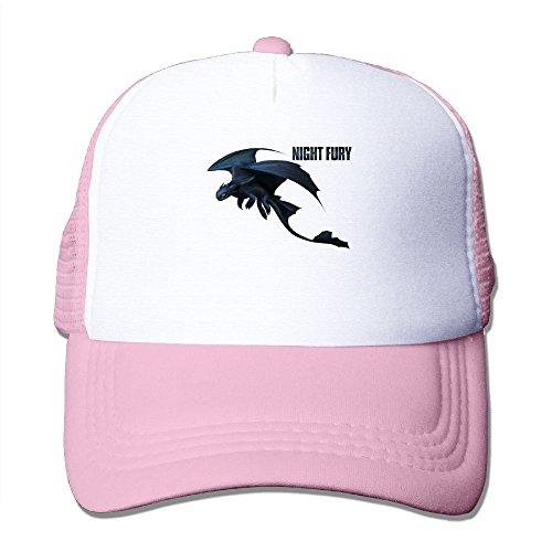 Avis N How To Train Your Dragon Mesh Hat Trucker Cap Hat Pink Train Trucker Hat