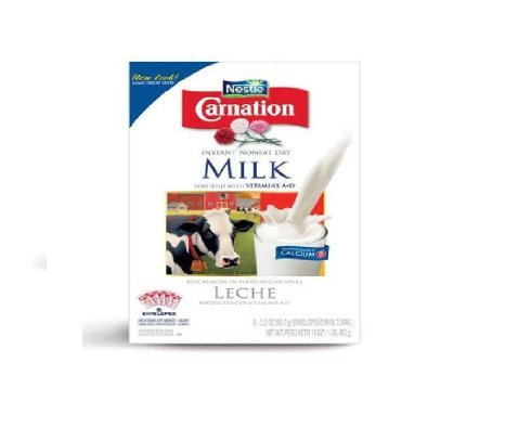 Carnation Instant Nonfat Dry Milk - 10 of 3.2 oz Pouches ...