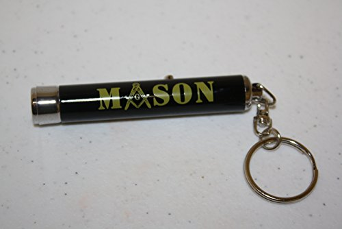 Mason Torch Light Keychain Masonic