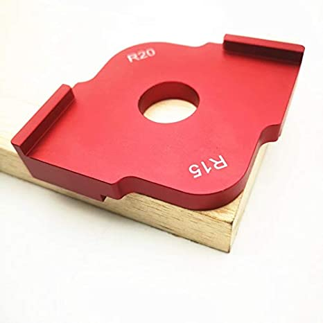 Tool Parts Wood Panel Radius Quick Jig Router Table Bit