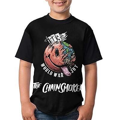 Dana J Lessard The Chainsmokers Shirt Youth Teenager T Shirt Boys & Girls Short Sleeve T Shirt Cotton Pattern Tee