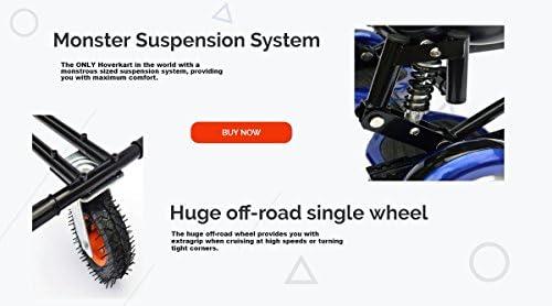 Nouveau modèle de style 2018Hover Kart Kart de suspension pour Hover planches, Hoverboard Accessoires avec avant tout terrain Pneu–Compatible avec 16,5cm 20,3cm 25,4cm deux roues auto-équilibrage Hoverboard, 4couleurs Choix