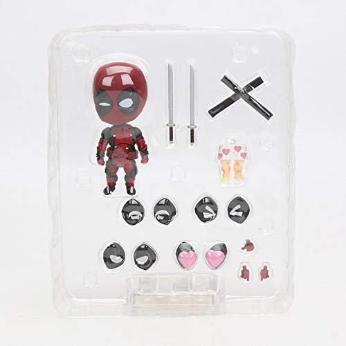 2018 10cm Marvel Toys Nendoroid Series 662 Cute Deadpool Orechan Edition PVC Action Figure Superhero Collectible Model Doll Toy