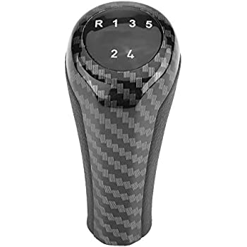 BEESCLOVER 5 Speed 6 Speed Gear Stick Shift Lever Knob for Legacy for Subaru Forester Impreza STI WRX 6 Speed One Size