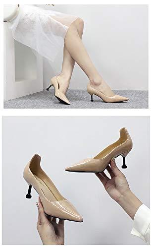 Pointus Chaussures D'unité Yuch Pink Et Pour Hauts Arrière Talons Centrale Femmes Sac 68Ww8rExF