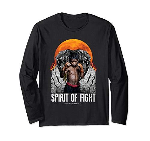 Thailand Original Muay thai kickboxing Gift for men women Long Sleeve T-Shirt