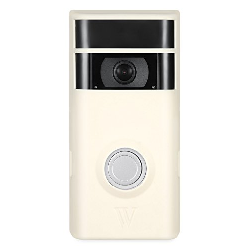 - Colorful & Protective Silicone Skins for Ring Video Doorbell 2 - Protect and Camouflage Your Ring Video Doorbell 2 with These UV Light- and Weather-Resistant Silicone Skins (Beige)