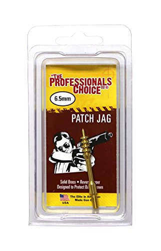 The Professional's Choice Brass Patch Jag, - Jag Brass Tip