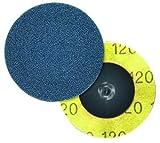 2'' Type 3-TR SIAFIX 24 Grit Aluminum Oxide Cloth Disc