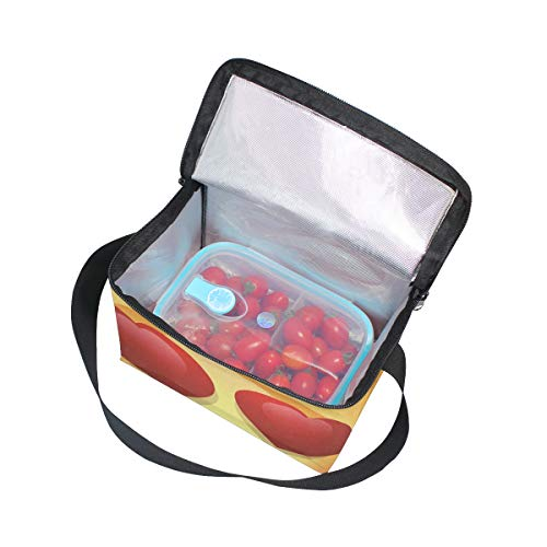 Happy Face Strap for Lunchbox Cooler Love Bag Emoji Lunch Picnic Shoulder Smile Eyes qSZFWtwZEP