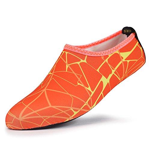 Chaussures Le Avec Apne Easy confortables Plonge Qui En Natation Chaussettes Extra Sable Motif La Impermables Fit Protgent Contre Pour x8qxBSTY