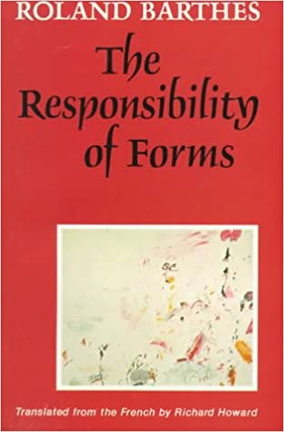 amazon com the responsibility of forms critical essays on music  amazon com the responsibility of forms critical essays on music art and representation 9780520072381 roland barthes richard howard books