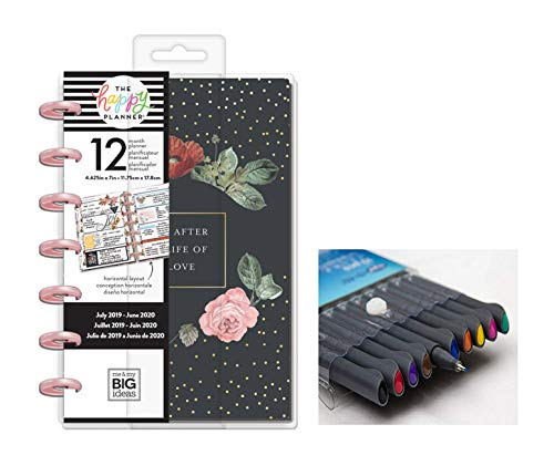 Mini Sprinkle Kindness and Comes with Kemah Craft 10 Pc Fineliner Color Pens PLNM-126 me /& My Big Ideas The Happy Planner