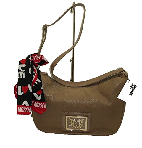 Borsa Sacca Con Sciarpa Love Moschino Jc4028 Woman Handbag Shopping Scarf Сумка С Шарфом Foulard
