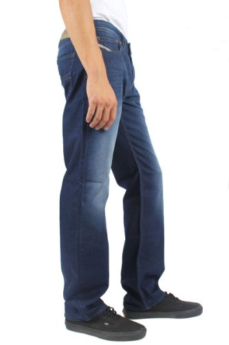 Diesel Men's Larkee Regular Straight-Leg Jean 0818N, Denim, 29x30