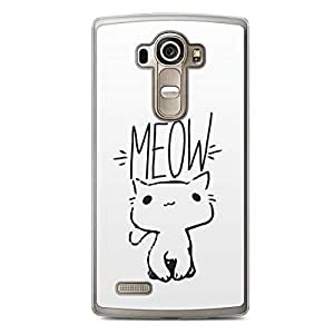 Meow Cat LG G4 Transparent Edge Case - Animal Collection