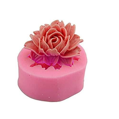 AIUSD Clearance , Love DIY HomeFlower Shape Fondant Mold Silicone Sugar Craft Molds Cake Decoratin (Sugar Furniture)