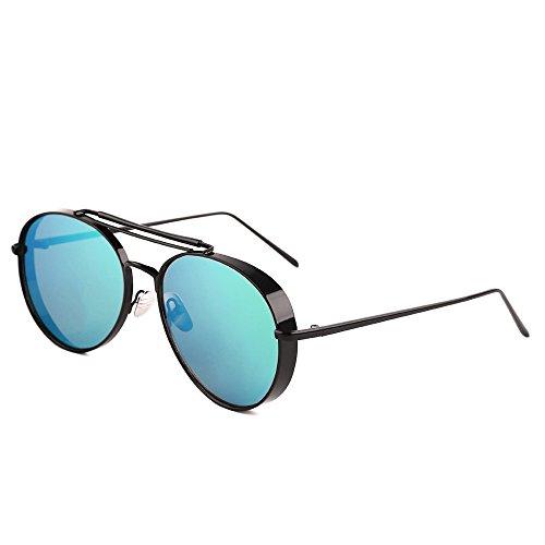de de de Moda o marca lentes sol de UV400 Steampunk las mujeres lujo Horrenz la de las Gafas para Playa Vintage Gafas 2 gafas Dise de mujeres sol de las wq6TzPd6